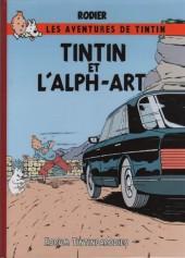 Tintin - Pastiches, parodies & pirates -19e- Tintin et l'Alph-Art