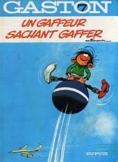 Gaston -7a1988- Un gaffeur sachant gaffer