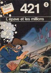 421 -0- L'épave et les millions