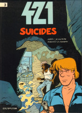 Couverture de 421 -3- Suicides