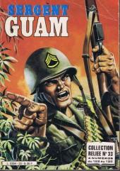 Sergent Guam -REC33- Album N° 33 (du N° 129 au N°132°)