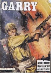 Garry (Impéria - 3e série) -Rec80- Collection Reliée N°80 (du n°433 au n°436)