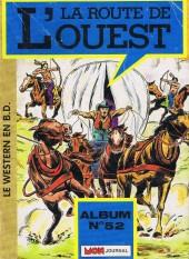 La route de l'Ouest -Rec52- Album N° 52 (du N° 154 au N° 156)