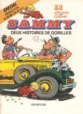 Sammy -11a1986- deux histoires de gorilles