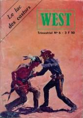 West (Jeunesse et Vacances) -6- Le lac des castors