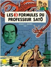 Blake et Mortimer -11c14- Les 3 formules du Professeur Satô - Tome 1