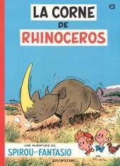 Spirou et Fantasio -6d81- La corne de rhinocéros
