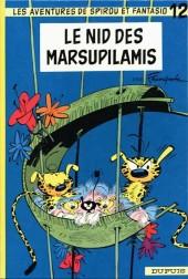 Spirou et Fantasio -12d82- Le nid des Marsupilamis