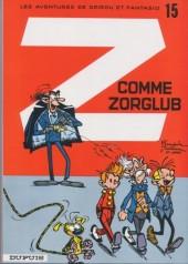 Spirou et Fantasio -15d82- Z comme Zorglub