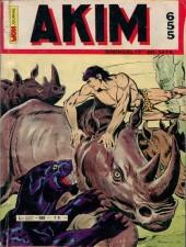 Akim (1re série) -655- La charge des rhinocéros