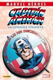 Marvel Héroes -3- Capitán América: La leyenda viviente