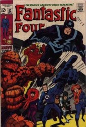 Fantastic Four (1961) -82- The Mark of.. the Madman!