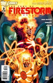 Fury of Firestorm (The): The Nuclear Men (2011) -3- Helix