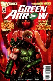 Green Arrow (2011) -4- The thinks you do for love hate!