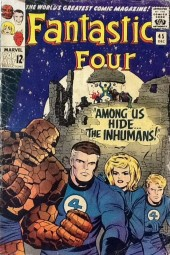 Fantastic Four (1961) -45- Among Us Hide... The Inhumans!