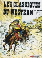 Les classiques du western -REC01- Album n°1 (Long Rifle n°101, Tipi n°75, El Bravo n°106)