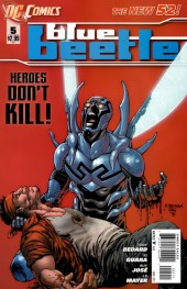 Blue Beetle (2011) -5- Heartless