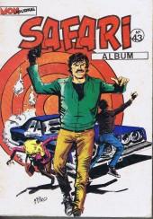 Safari (Mon Journal) -Rec43- Album N°43 (du n°155 au n°157)