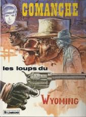 Comanche -3d1985- Les Loups du Wyoming