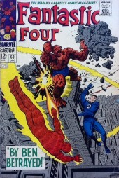 Fantastic Four (1961) -69- By Ben betrayed!