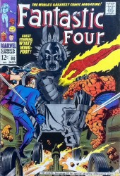 Fantastic Four (1961) -80- Where treads the living totem!