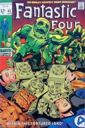 Fantastic Four (1961) -85- Within this tortured land!