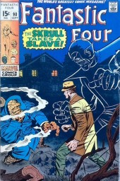 Fantastic Four (1961) -90- The skull takes a slave!