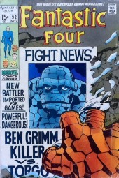 Fantastic Four (1961) -92- Ben Grimm, killer!