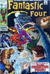 Fantastic Four (1961) -94- The return of the frightful four!