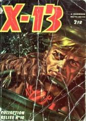 X-13 agent secret -Rec10- Collection reliée n°10 (du n°73 au n°80)