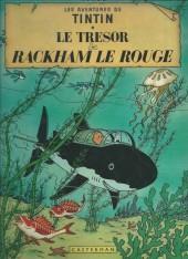Tintin (Historique) -12C5- Le trésor de Rackham Le Rouge