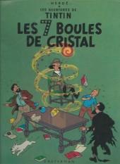 Tintin (Historique) -13C4- Les 7 boules de cristal