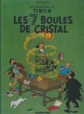 Tintin (Historique) -13C7- Les 7 boules de cristal