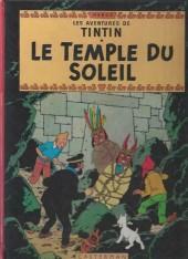 Tintin (Historique) -14C3bis- Le temple du soleil