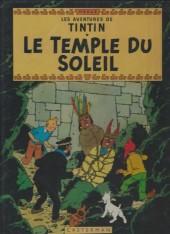 Tintin (Historique) -14C6bis- Le temple du soleil