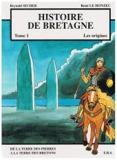 Histoire de Bretagne -1a- De la terre des pierres à la terre des bretons