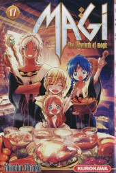 Magi (The labyrinth of magic) -17- Tome 17