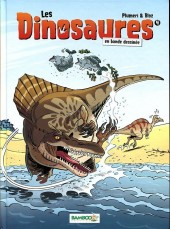 Les dinosaures en bande dessinée -4- Tome 4