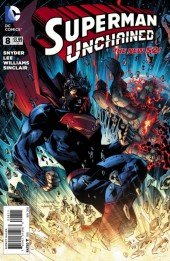 Couverture de Superman Unchained (2013) -8- Unchained