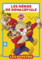 Les héros de Donaldville -9- Les Rapetou