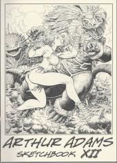 (AUT) Adams, Arthur -12- Arthur Adams Sketchbook XII