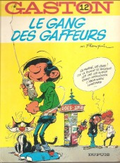Gaston -12a1976- Le Gang des gaffeurs