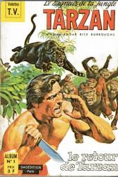 Tarzan (2e Série - Sagédition) (Vedettes T.V.) -Rec01- Album N°1 (du n°1 au n°3)