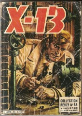 X-13 agent secret -Rec65- Collection reliée N°65 (du n°392 au n°395)