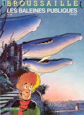 Broussaille -1- Les baleines publiques