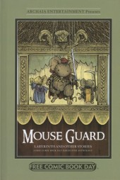 Free Comic Book Day 2012 - Mouse Guard / Labyrinth and Other Stories: A Free Comic Book Day Hardcover Anthology