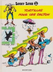 Lucky Luke -31c93- Tortillas pour les Dalton