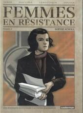 Femmes en résistance -2- Numéro 2 - Sophie Scholl