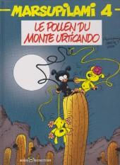 Marsupilami -4b04- Le pollen du Monte Urticando