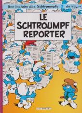 Les schtroumpfs -22Ind- Le Schtroumpf reporter